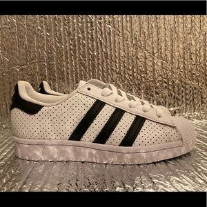 Adidas Superstar FV2830 Originals Sneakers Leather Boy's Size 3.5 Women's Size 5